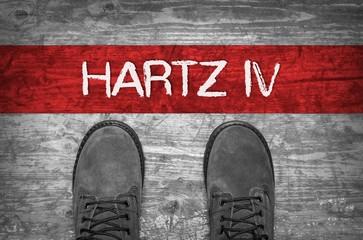 Schritt in Hartz IV