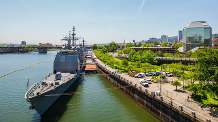 Portland Waterfront Naval Boats