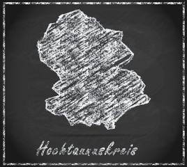 Karte von Hochtaunuskreis