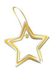 Goldener Stern - Anhänger