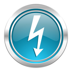 bolt icon, flash sign