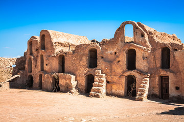 Medenine (Tunisia) : traditional Ksour (Berber Fortified Granary