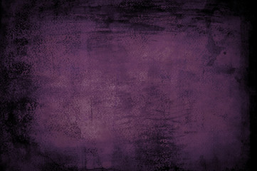 abstract purple background with black vignette borders