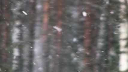 Swirly snowflakes