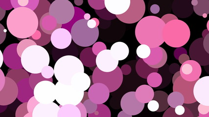 Colorful Circles circular pink shapes colorful dance animation