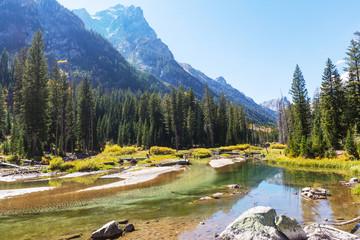 fototapeta góry Grand Teton