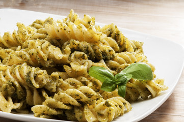 Pesto Genovese plate