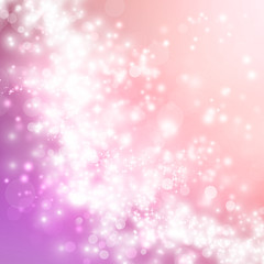 Pink abstract lights background
