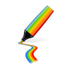 textmarker regenbogen I