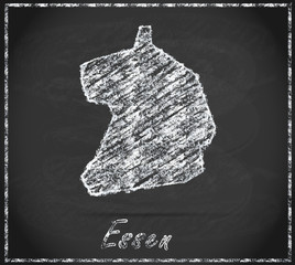 Karte von Essen