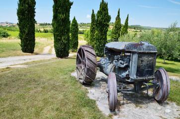 Spanish rural landscape in the vicinity of the Milmanda estate