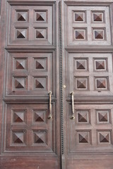 massive church doors