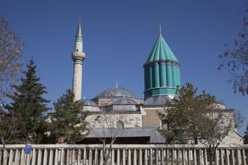 Mevlana Museum in Konya, Turkey