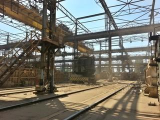 Metallurgical plant, steel works