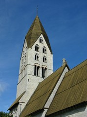 The Tingstade church on Gotland in Sweden