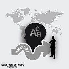 Business concept - business growth concept