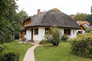 Einfamilienhaus in typischem Baustil
