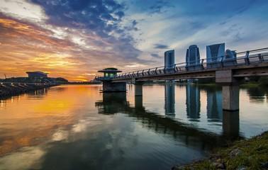 Nice Sunset at Putrajaya International Convention Centre