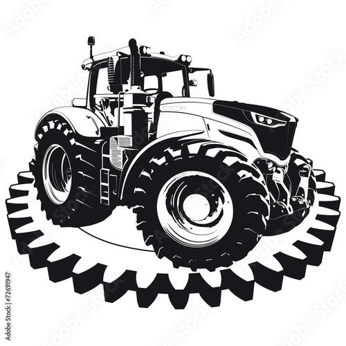 Landwirtschaft Traktor Landmaschine - 72691947