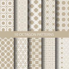 10 octagon patterns