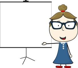 teacher flip chart