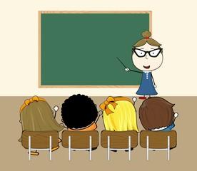 teacher class room