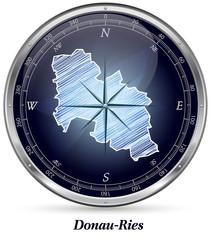 Karte von Donau-Ries