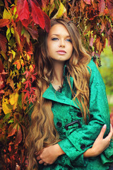 Young gorgeous woman portrait.