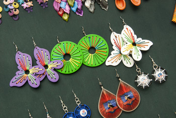 Women Fashion Accessories - Various Items Of Handmade Earrings