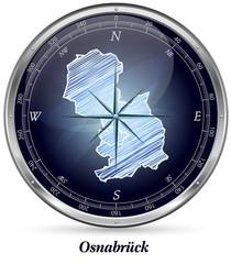 Karte von Osnabrueck