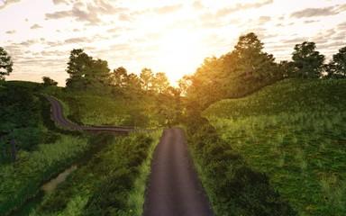 route de campagne 4