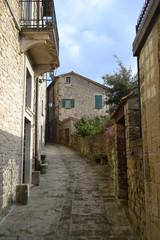 Medieval narrow street