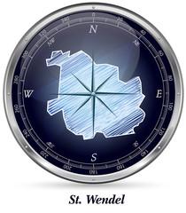 Karte von Wendel