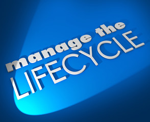 Manage the Lifecycle 3d Words Develop Sales Process Procedure