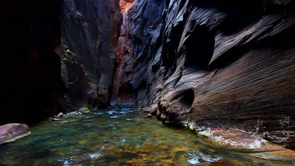 Zion Canyon Narrows Virgin River