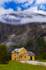 House near Trollstigen - Norway