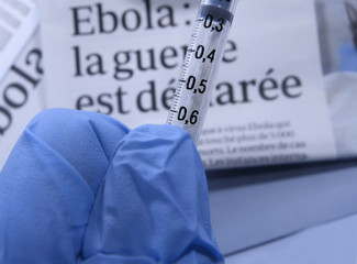 virus ebola : élaboration du  vaccin