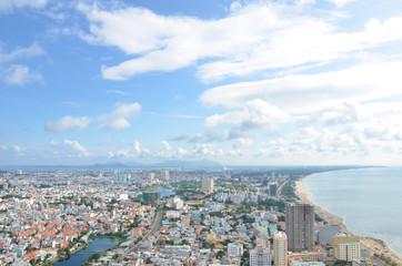 Vietnam city Vung Tau panorama