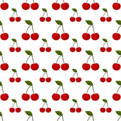 Cherry seamless pattern