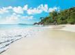 Tropical beach Anse Georgette, island Praslin, Seychelles