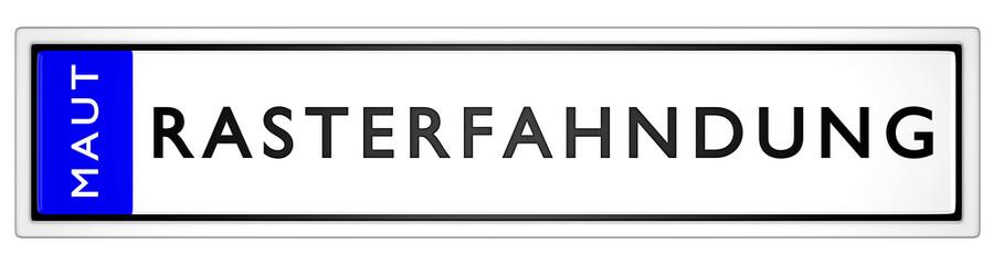 Maut Rasterfahndung / KFZ Kennzeichen