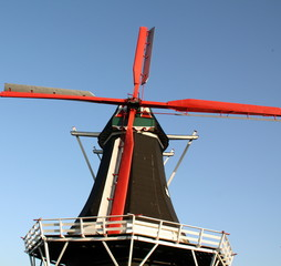 "Windmill ""De Hoop"" from 1875 in Norg.Netherlands"