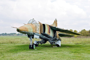 Soviet Jetfighter Mig-27. The cold war time.