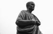 Leinwanddruck Bild - Seneca statue