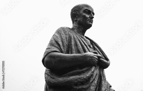 Leinwanddruck Bild Seneca statue