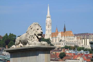 Urban scenic in Budapest, Hungary