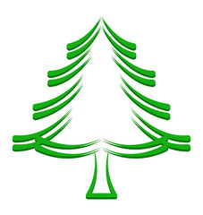 Christmas Tree Frame Design