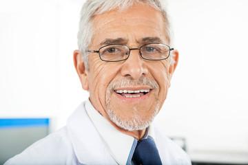 Portrait Of Happy Male Technician