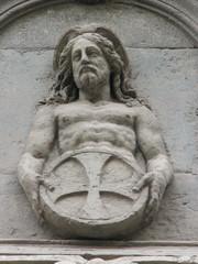 Bassorilievo Cristo con Simbolo