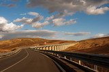 Fototapety Viaduct in the Sicilian countryside